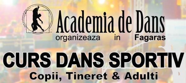 Deschidere de curs de dans sportiv in Fagaras