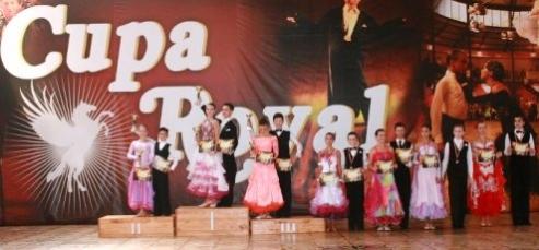 Cupa Royal, Lugoj - 4 perechi participante si 7 calificari in finala