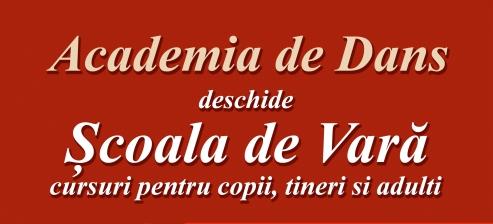 Academia de Dans deschide Scoala de Vara