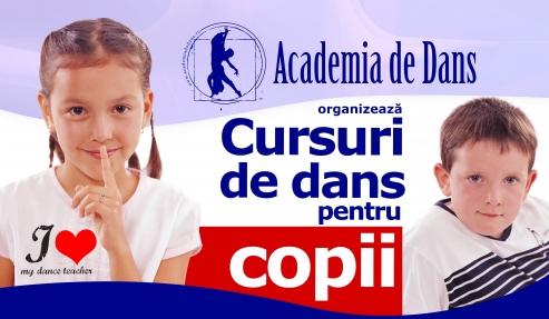 Deschidere curs de dans pentru copii