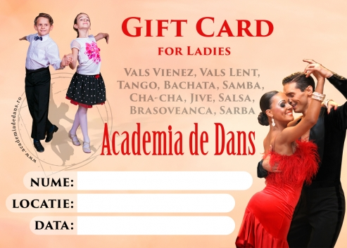 Gift Card for Ladies