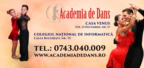 Cursuri de dans pentru parintii micutilor dansatori ai Academiei de Dans